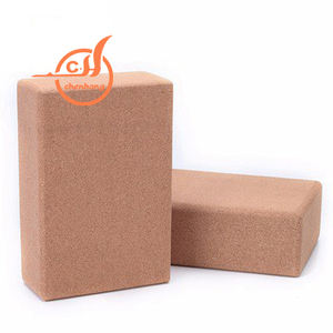 Private Label Body Building Cork Yoga Blocks Manufacturers