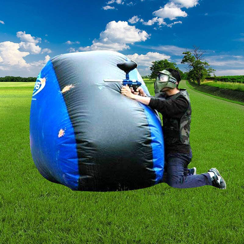 Tactical Paintball Inflatable Bunker Product Set for CS Games inflatable furniture sets