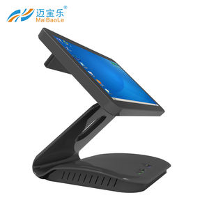 hot sell Piano black type all in one android pos system cash register terminal with Cards reader