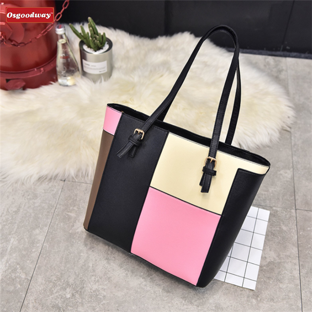 Osgoodway Ladies Large Fashion Designer Celebrity Tote Bags Women's Quality Hot Selling Trendy Handbags