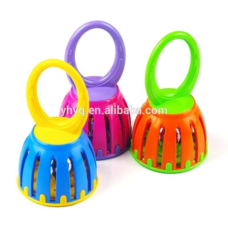 bambino giocare sonaglio giocattolo sonaglio di plastica
