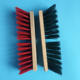 Long wood handle natural coco broom brush for floor cleaning