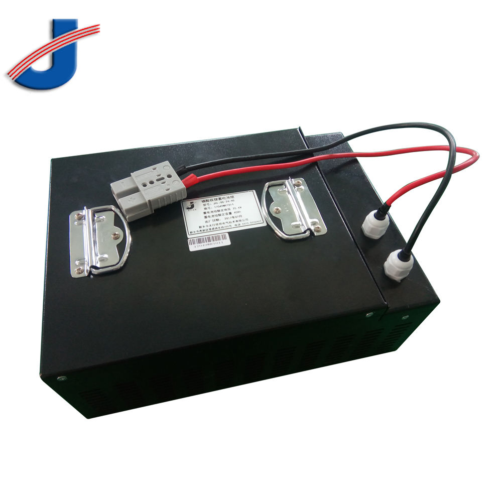 24V 50AH LiFePO4 battery pack with Anderson plug for AGVs