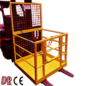 Forklift Attachments Forklift Safety Cage Forklift Working Platform