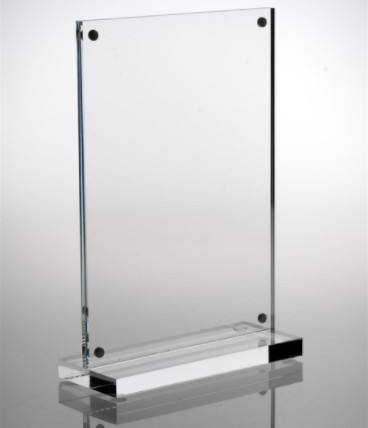 Yageli China Fabriek Tafelblad Clear <span class=keywords><strong>Acryl</strong></span> Plexiglas Magnetische Foto Menu Houder Display Frame <span class=keywords><strong>4x6</strong></span>