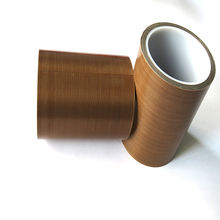High Quality Single Sided Teflone Brown Heat Resistant Tape