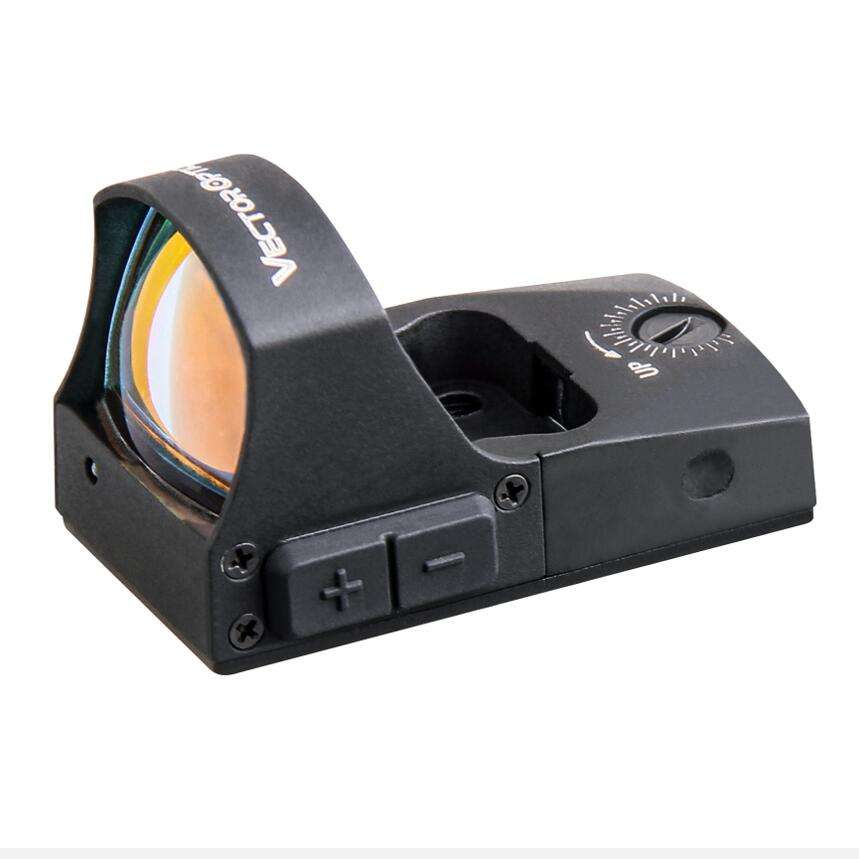 Vector Optics Spirit 1x25 ปืนพก Glock 17 19 MINI Red Dot <span class=keywords><strong>Sight</strong></span> 3MOA Dot ขนาด/ปิด switch & Auto Light SENSE