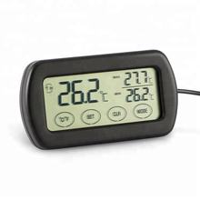 Digital Touchscreen Thermometer Hygrometer, Temperature Humidity Meter with Max Min Record and Alarm Function