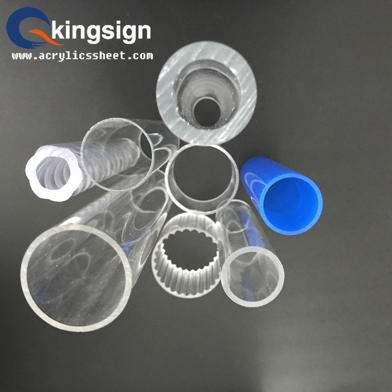 Wholesale 100% virgin mitsubishi plastic cast and extruded clear acrylic tube