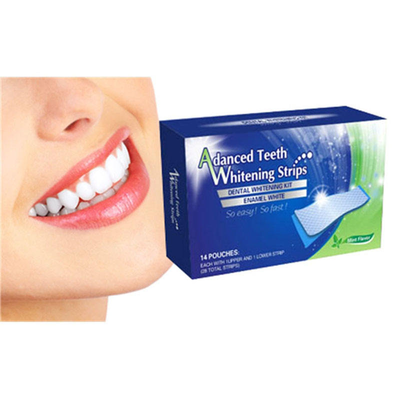 Private Label Oral Hygiene Teeth Whitening Strips Dental Care White Tooth