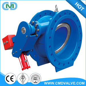 Low Pressure DI GGG50 20 Inch Silent Check Valve with Hydraulic and lever