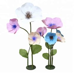 New China artificial flowers party wedding decoration giant foam decorative flowers