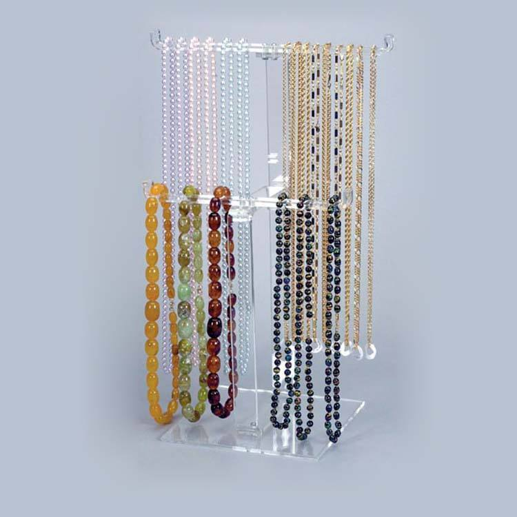 Cas de l'échantillon plateau de bijoux acrylique de mode <span class=keywords><strong>comptable</strong></span> attaché