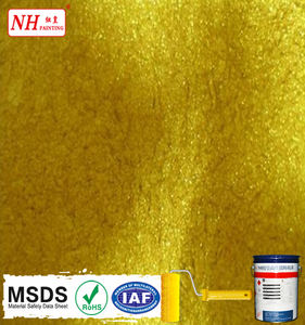 Thermoplastic gold powder Coating paint