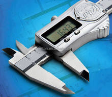High quality IP67 Water proof Digital Caliper 0-150mm 6inch Metal Electronic Vernier Caliper gauge micrometer work in the water