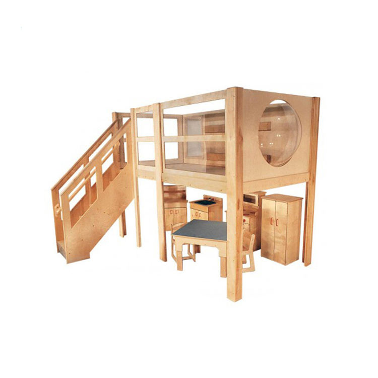 Kleuterschool Materiaal Kids Speelhuis Outdoor Houten Jungle Gym Speeltoestellen Home Gym Apparatuur