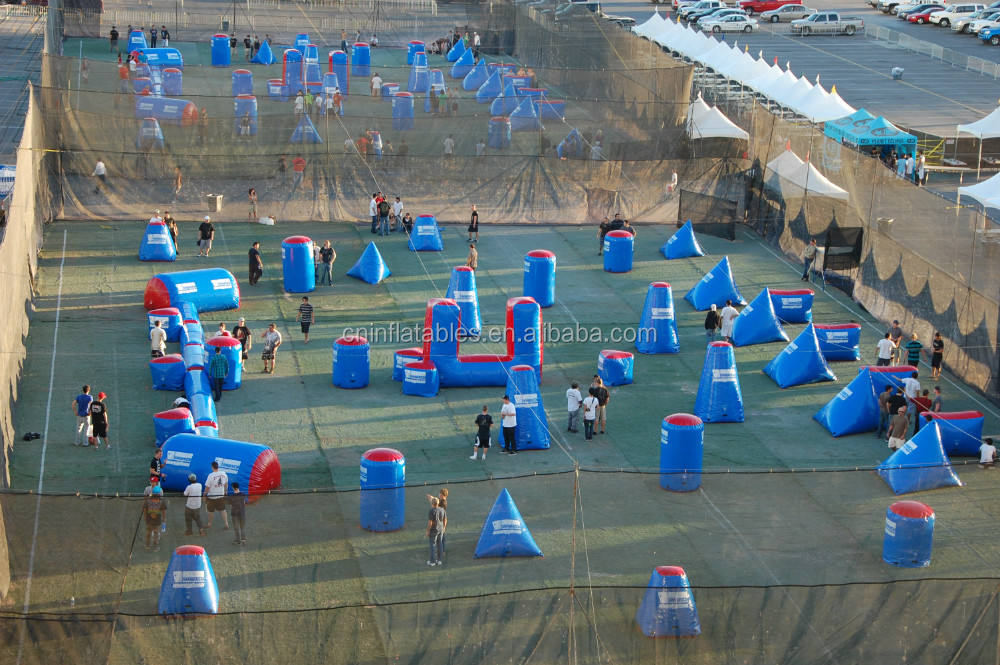 Bơm paintball obstacle / paintball inflatables / paintball marker