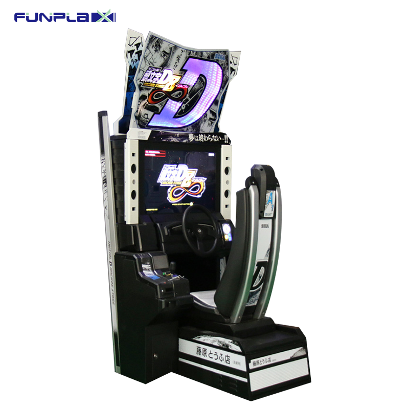 Stimulation Experience! Initial D Arcade Game Machine Coin Operated Car Racing Game Machine