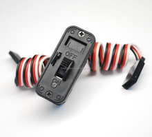 Heavy Duty On/Off Rc Servo Switch Harness With Led Indicator for JR