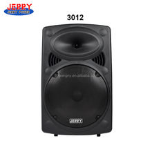 "3012 Portable PA 10"" 12"" 15"" JERRY trolley Speaker with VHF Wireless Microphones & Rechargeable Bat"