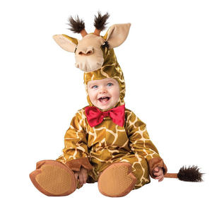 KIDS MONKEY JUMPSUIT BOYS FANCY DRESS COSTUME THE GIRAFFE THE PELLY /& ME OUTFIT