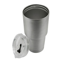 WeVi 30 oz double walled vacuum insulated stainless steel tea tumbler glass with threaded in bulk
