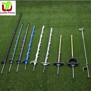 10 unidades Postes postes cincados para vallas secci/ón T-Altezza 125 cm.-Cf