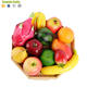 12pcs Artificial Fruit Set Fake Fruit House Kitchen Party Art Deco Apple Lemon Banana Peach Mango