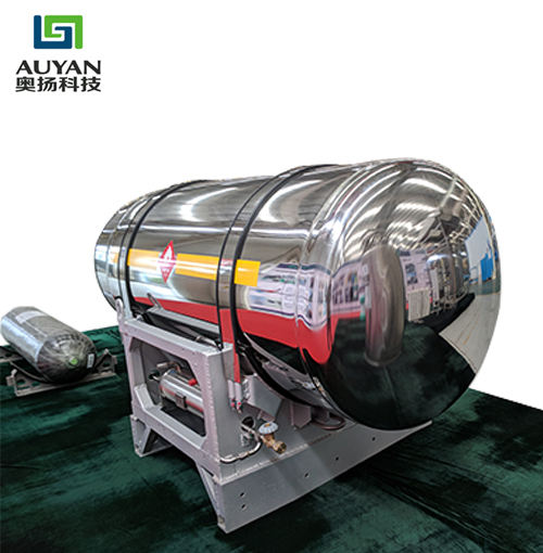 500L-I trucks composite gas lng fuel tanks argon hydrogen cylinder manufacturers