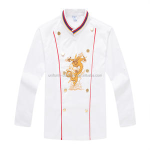 IGift Professionele Restaurant Uniform Chinese Stijl Chef Uniform