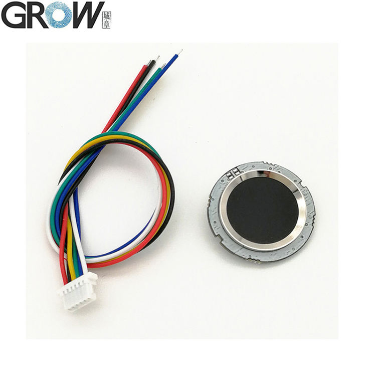 GROW R502 Round Smart Electronics Capacitive Fingerprint Reader Module