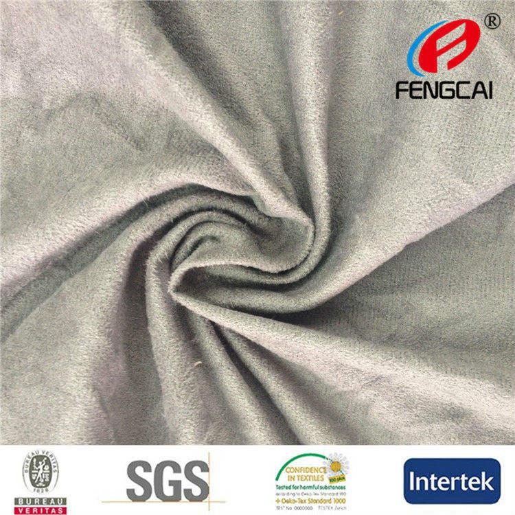100% poliestere maglieria pelle scamosciata/wholesale tessuto per i sedili in tessuto