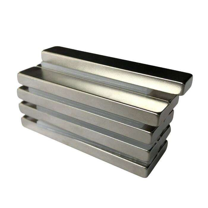 ISO9001 Approved Nickel Electrical Coating Neodymium Block Strong Magnet