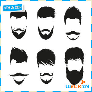 48PCS Costume Beard Hen Night Cosplay Party Fake Moustache Stick On Tash Beards