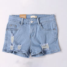 Cheap branded surplus clothing classic dark washed blue denim mini short skirt