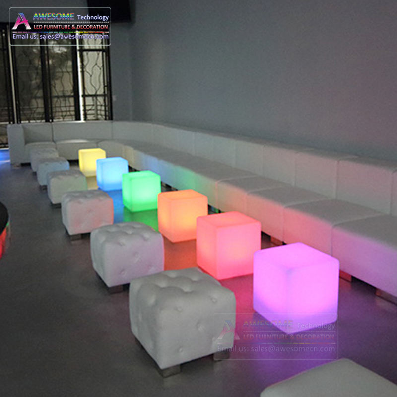 outdoor led bar furniture for patio party (cb400)