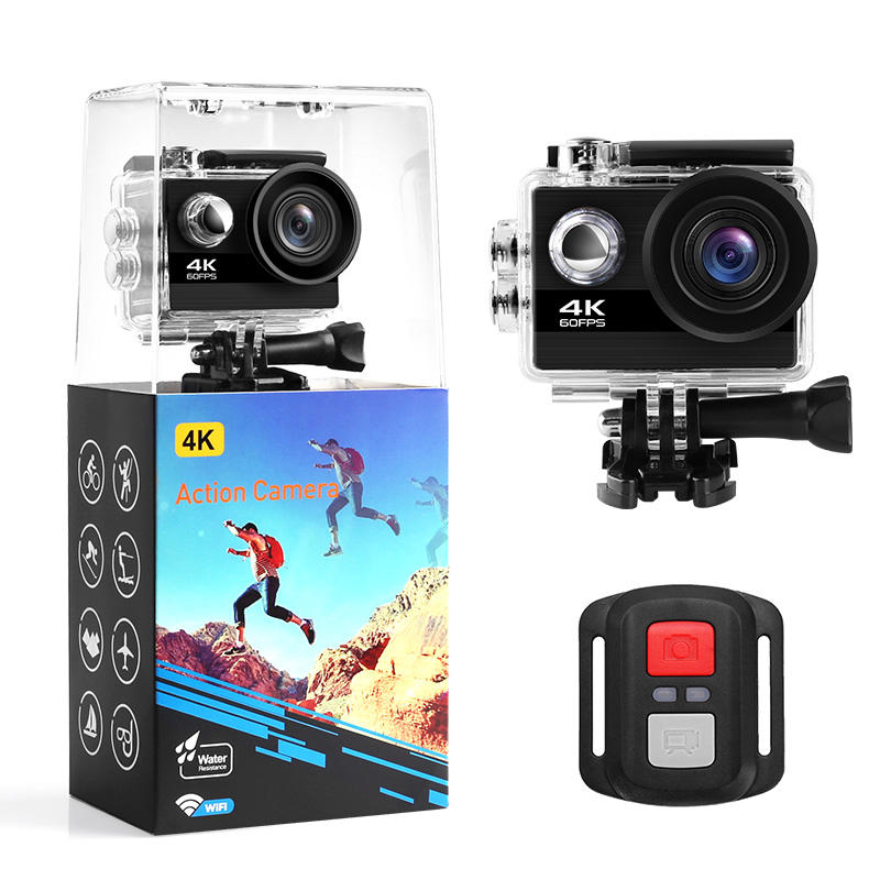 Real 4k 60FPS action camera Waterproof 170 Degree Full Hd 4k Wifi Sport Action Driving Video Camera