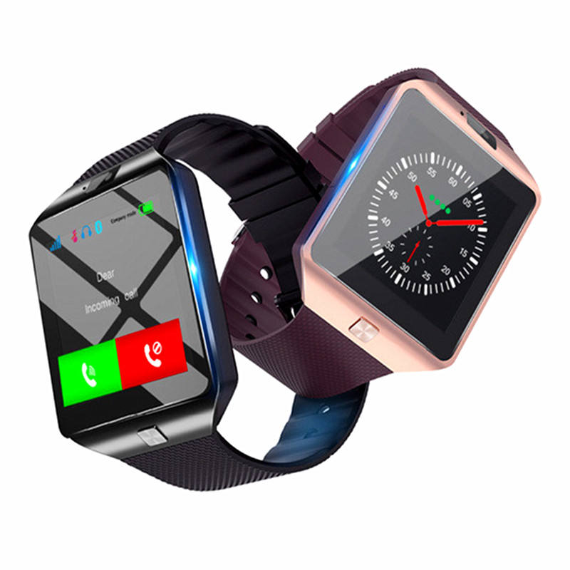 Free Shipping Hot Selling Gift Luxury Digital Electronics SIM TF Card bluetooth Smart Watch DZ09 for Man and Lady Wrist Watch