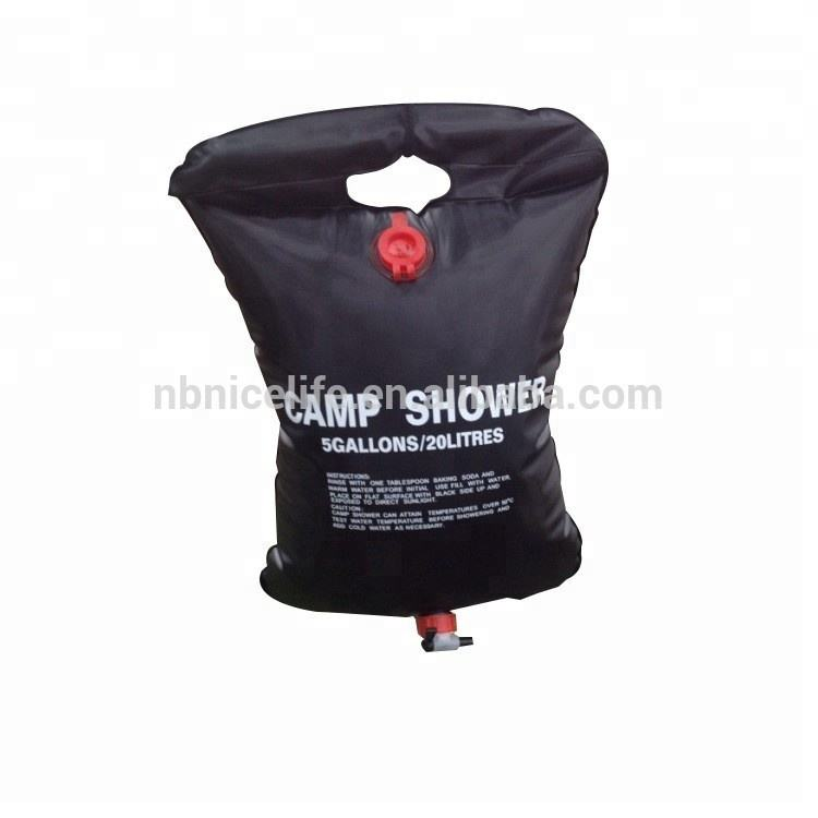 20L Outdoor camping shower bag solar air kandung kemih