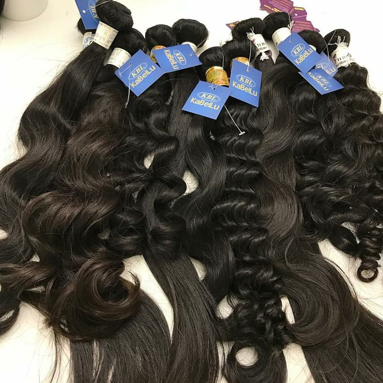 kabeilu raw human hair weave bundles,straight raw brazilian virgin cuticle aligned hair,raw wholesale bundle virgin hair vendors