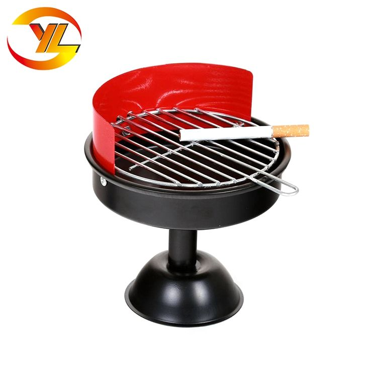 Guangdong manufacturer promotion gift bbq mini portable Ashtray