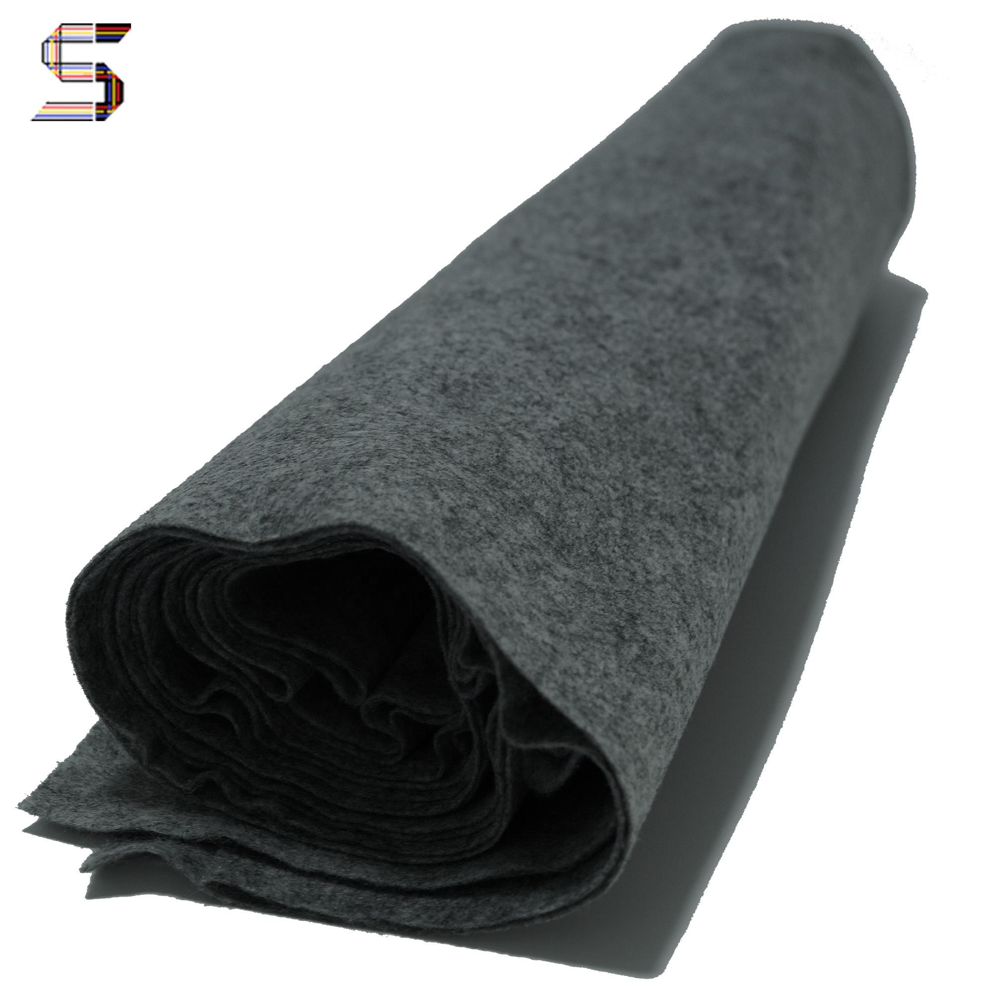 Cheap wholesale 1mm cloth 100% polyester knit fabric felt