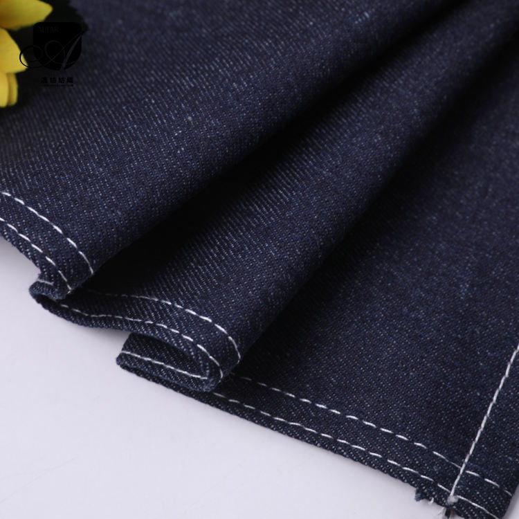 hot sale good products stretch crohatch slub denim