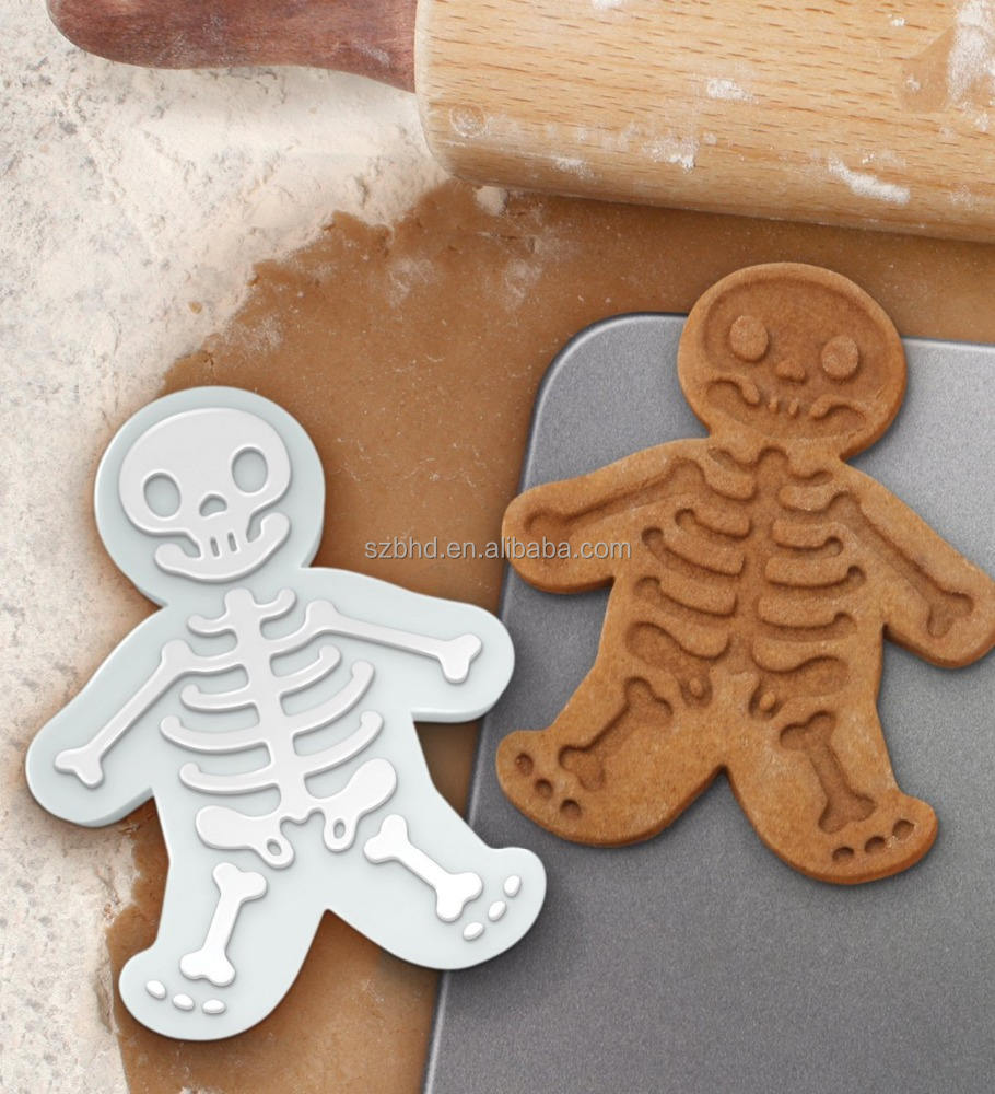 Food Grade Food grade plastic custom 3d cookie stamp cookie cutter