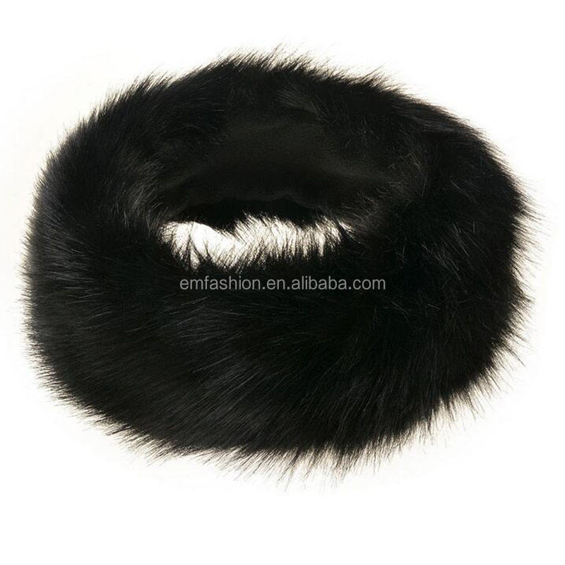 Europe American Style Wholesale Winter Fake Rabbit Fur Hat Headband