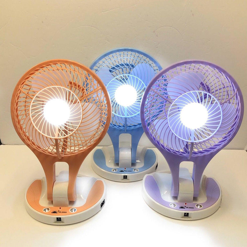 YIWU Mini USB Fan Charging Fan with Small Aromatherapy Box Mobile Phone Holder Night Light Color : Dark Blue