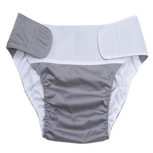 Plastic Free Adult Nappy Reusable Adult Cloth Diapers Wholesale