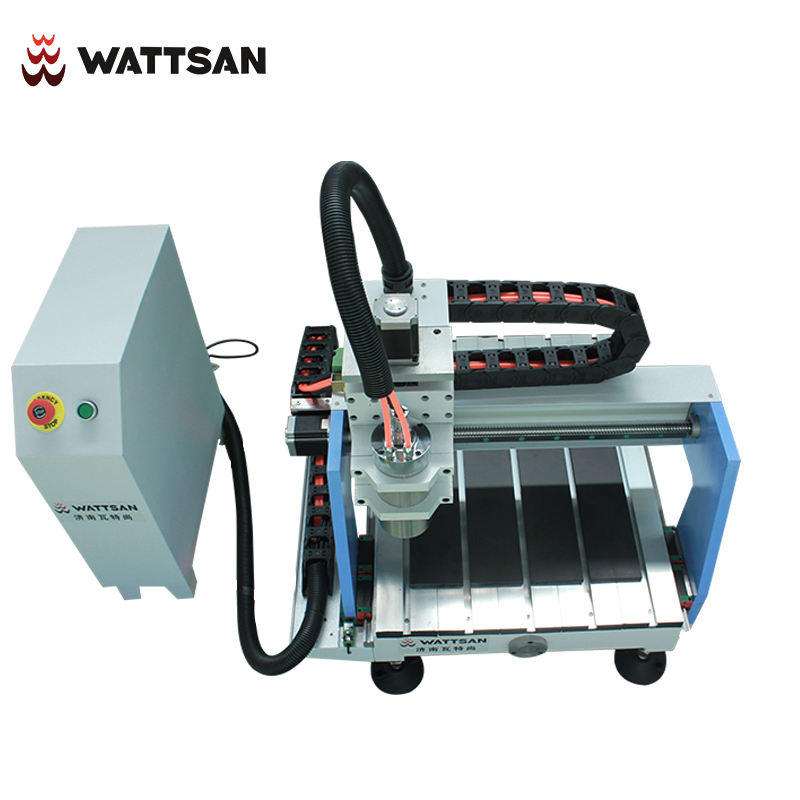 WATTSAN 3 Axis Desktop CNC Router machine 0404 mini with dsp controller easy to cooperate