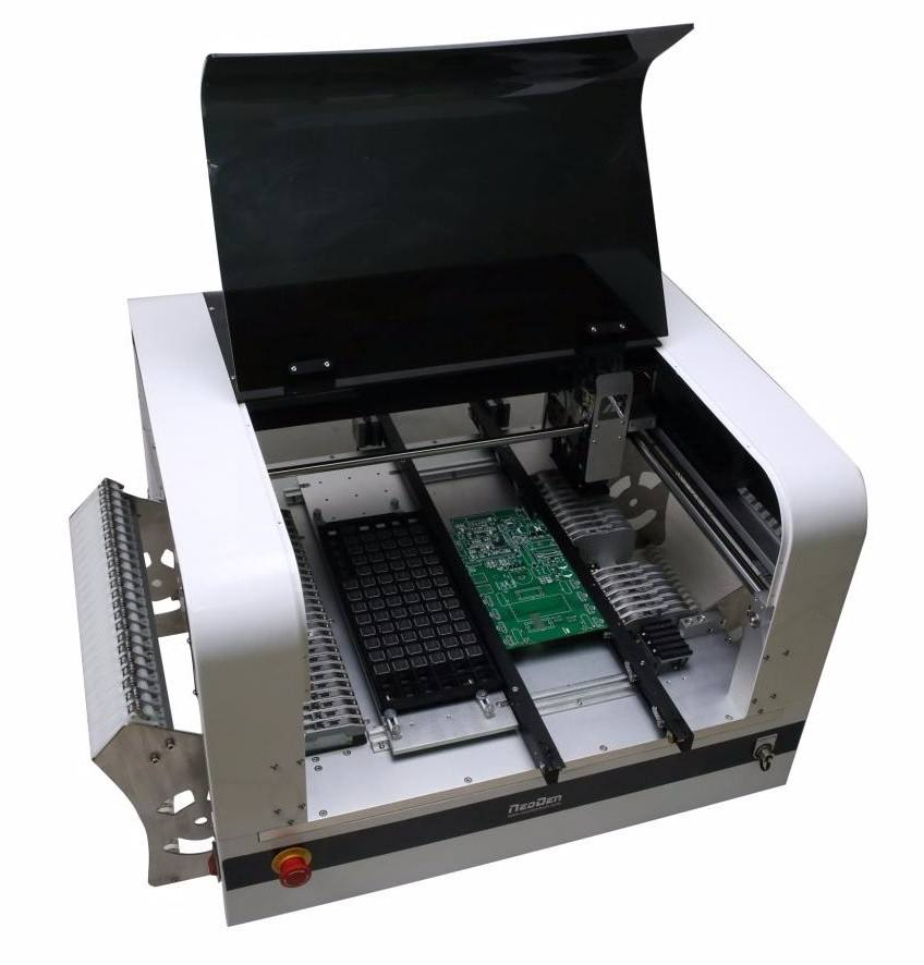 Automatic SMT Pick and Place Machine Neoden4 with Vision System Electronic Production SMT SMD assembly prototype R&D LAB