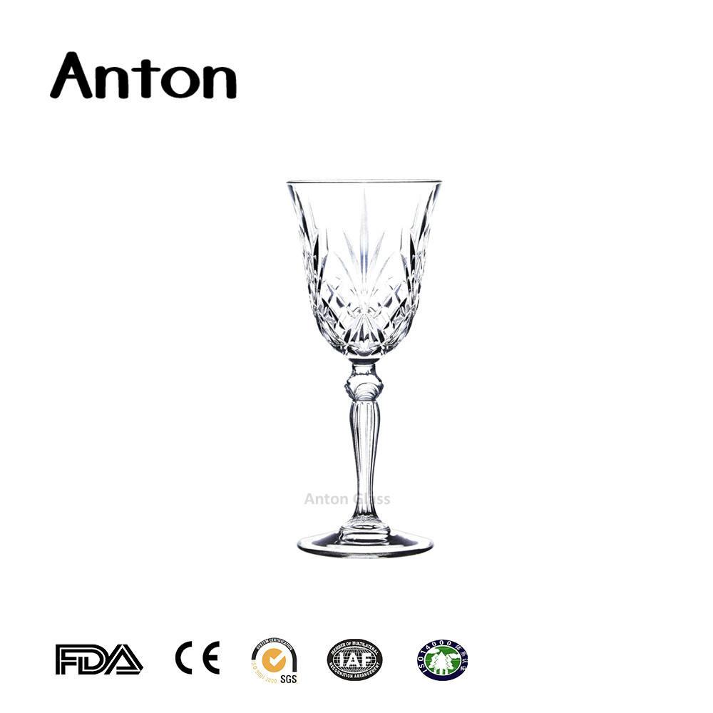 160 ml de vinho tinto flautas de vidro copos de chá combinação